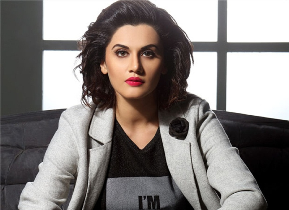 'Manmarziyaan' actress Taapsee Pannu lashes out at Sikh protesters, demands drug test outside gurudwara