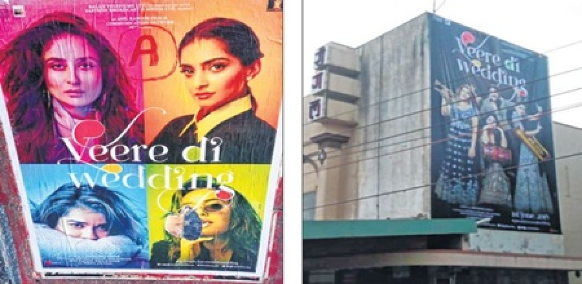 Indore: Posters of film 'Veere Di Wedding' removed from cinema halls