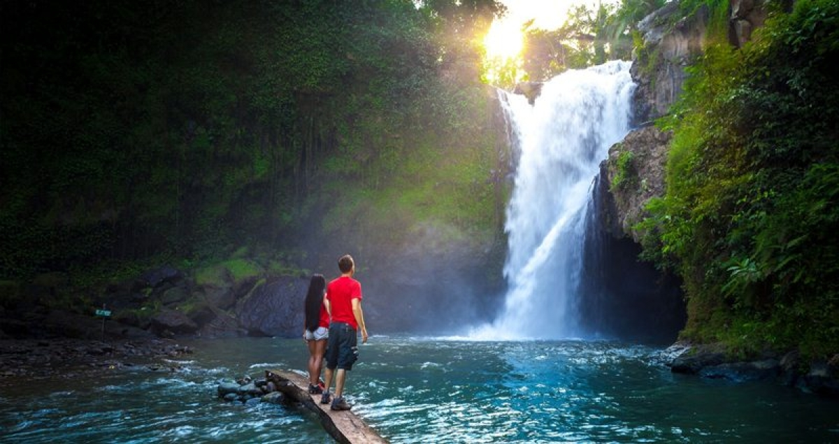 Treat life like a waterfall