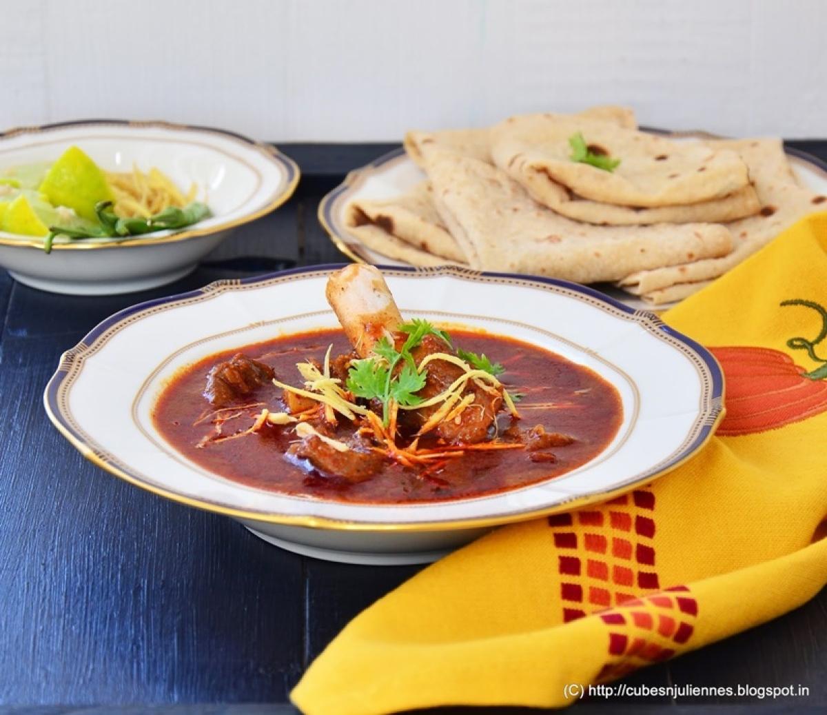 Nalli Nihari with Tawa paranthas