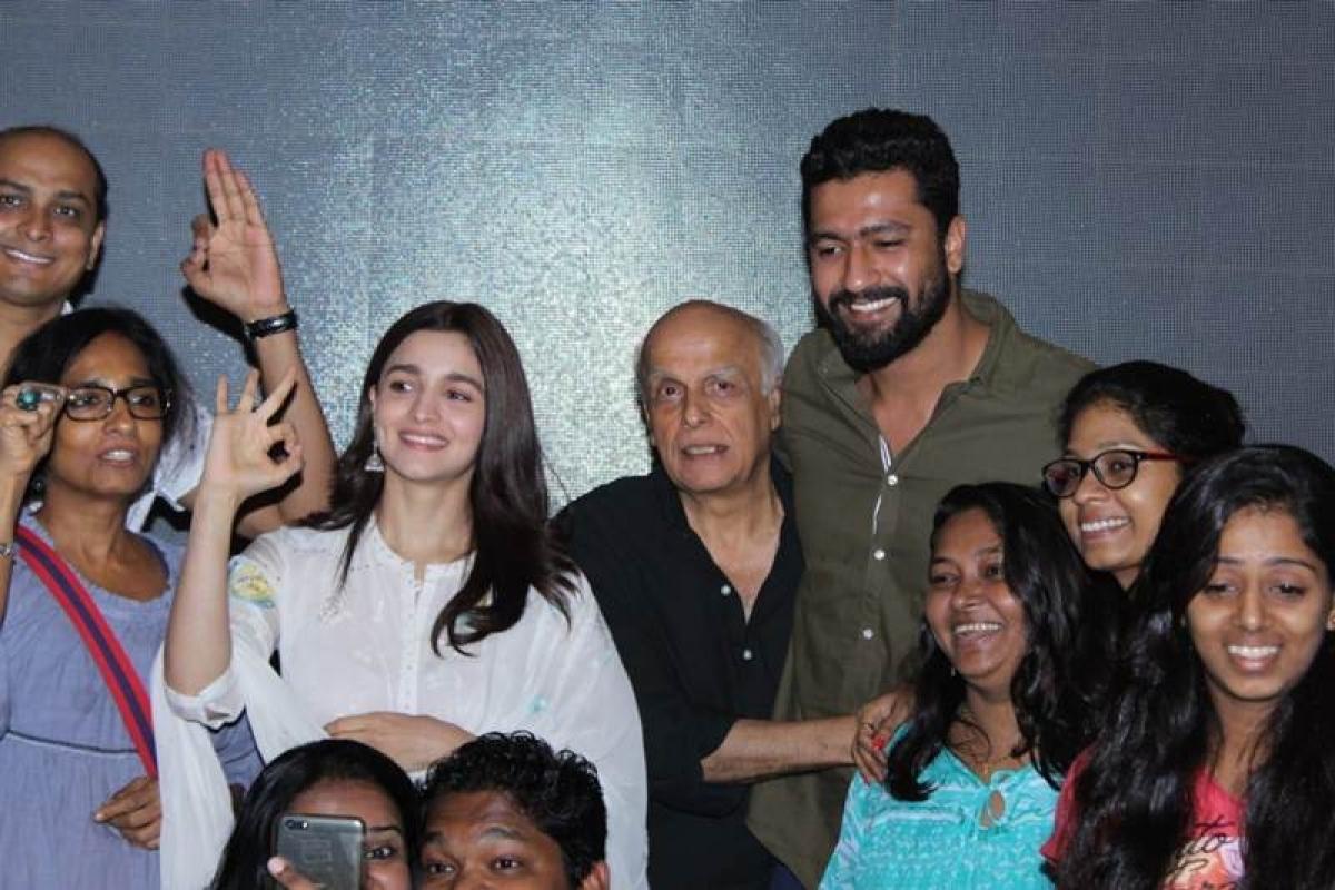 Alia Bhatt organises special 'Raazi' screening for deaf and mute kids in Mumbai, see pics