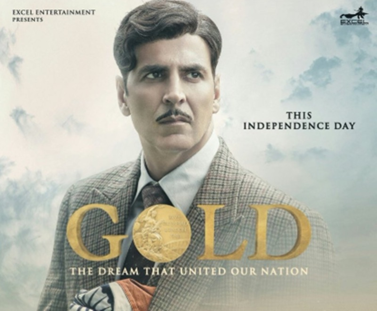 Gold New Poster: Akshay Kumar looks ravishingly intense with pride for the nation