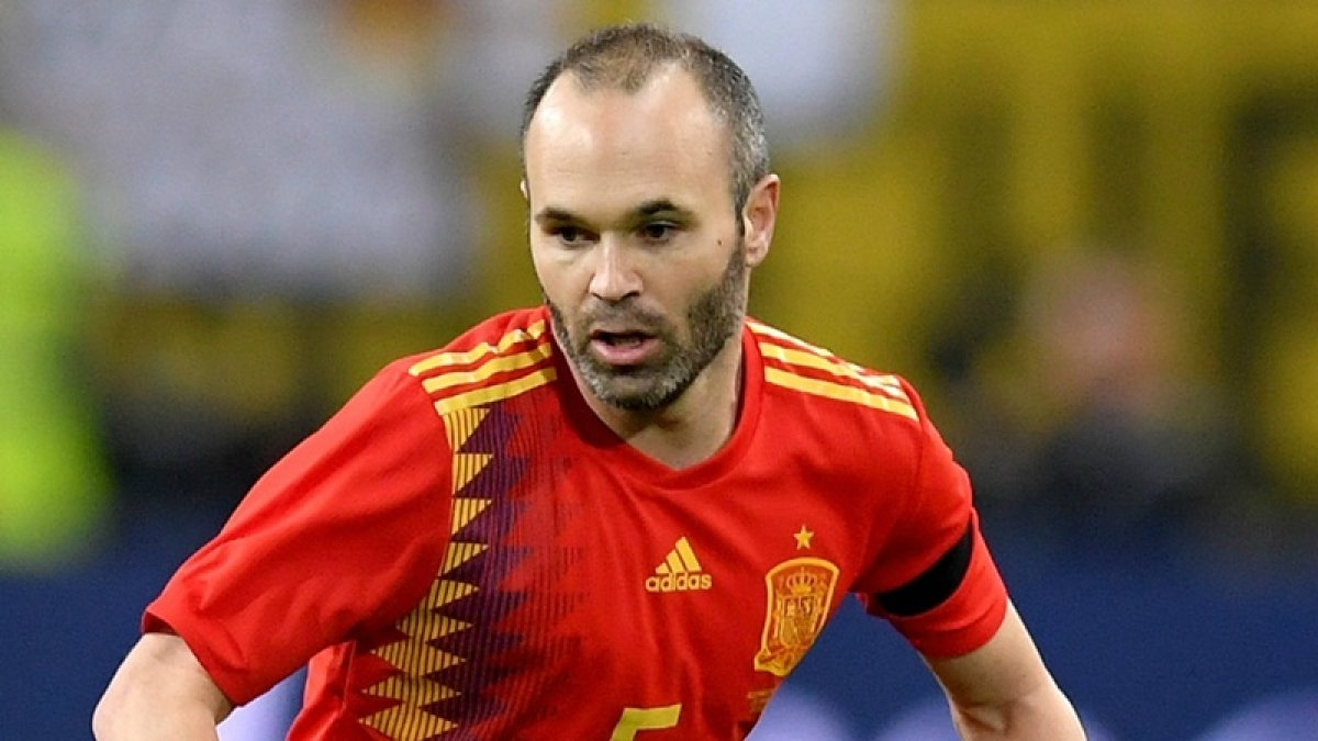 FIFA World Cup 2018: Andres Iniesta retires from Spain after loss to Russia