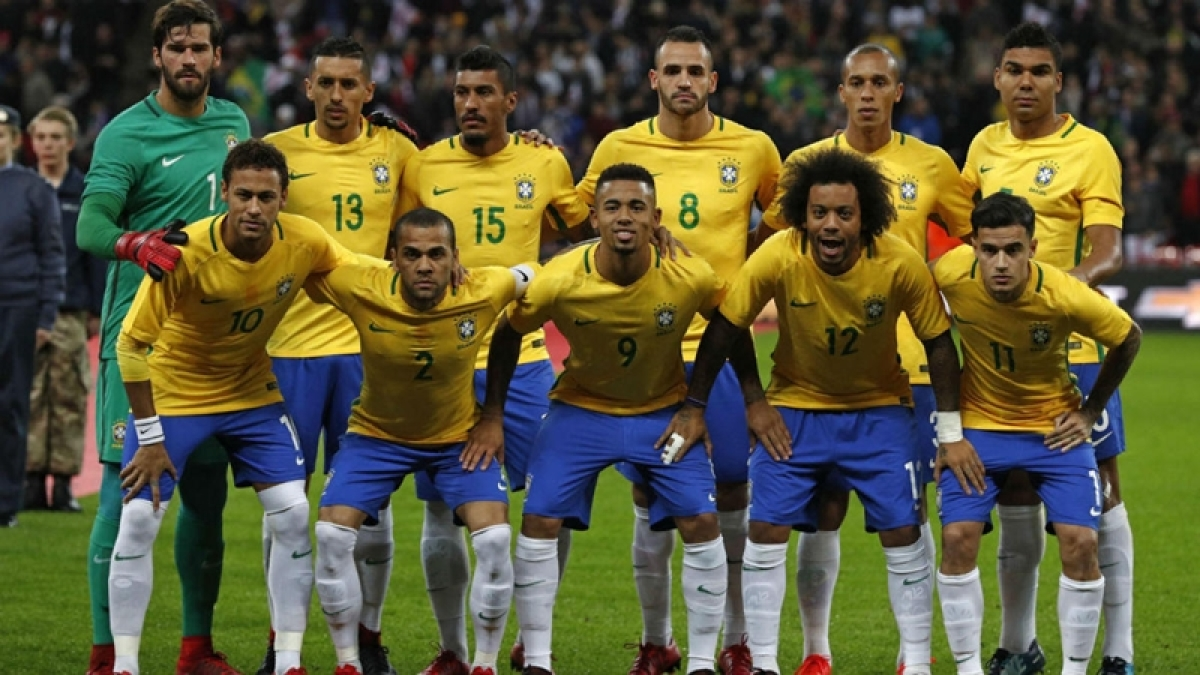 FIFA 2018: Brazil touch down in Russia ahead of World Cup