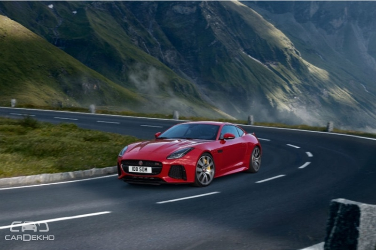 Bookings open for Jaguar F-Type SVR, prices announced