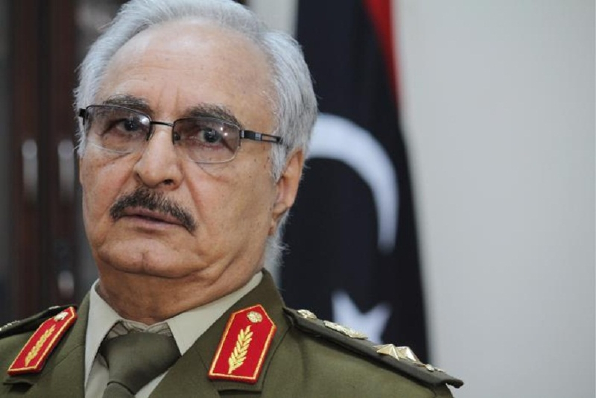Libyan strongman Khalifa Haftar announces 'liberation' of Derna