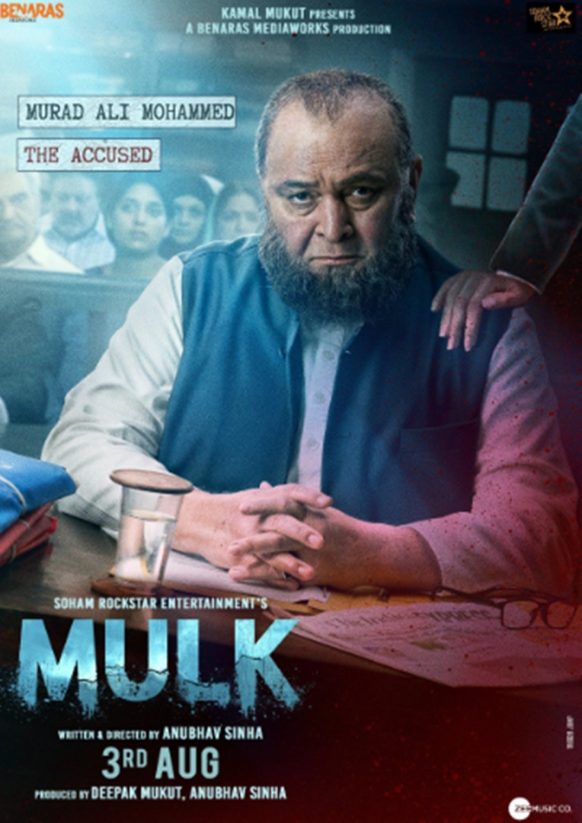 Mulk: First look of Taapsee Pannu-Rishi Kapoor starrer revealed