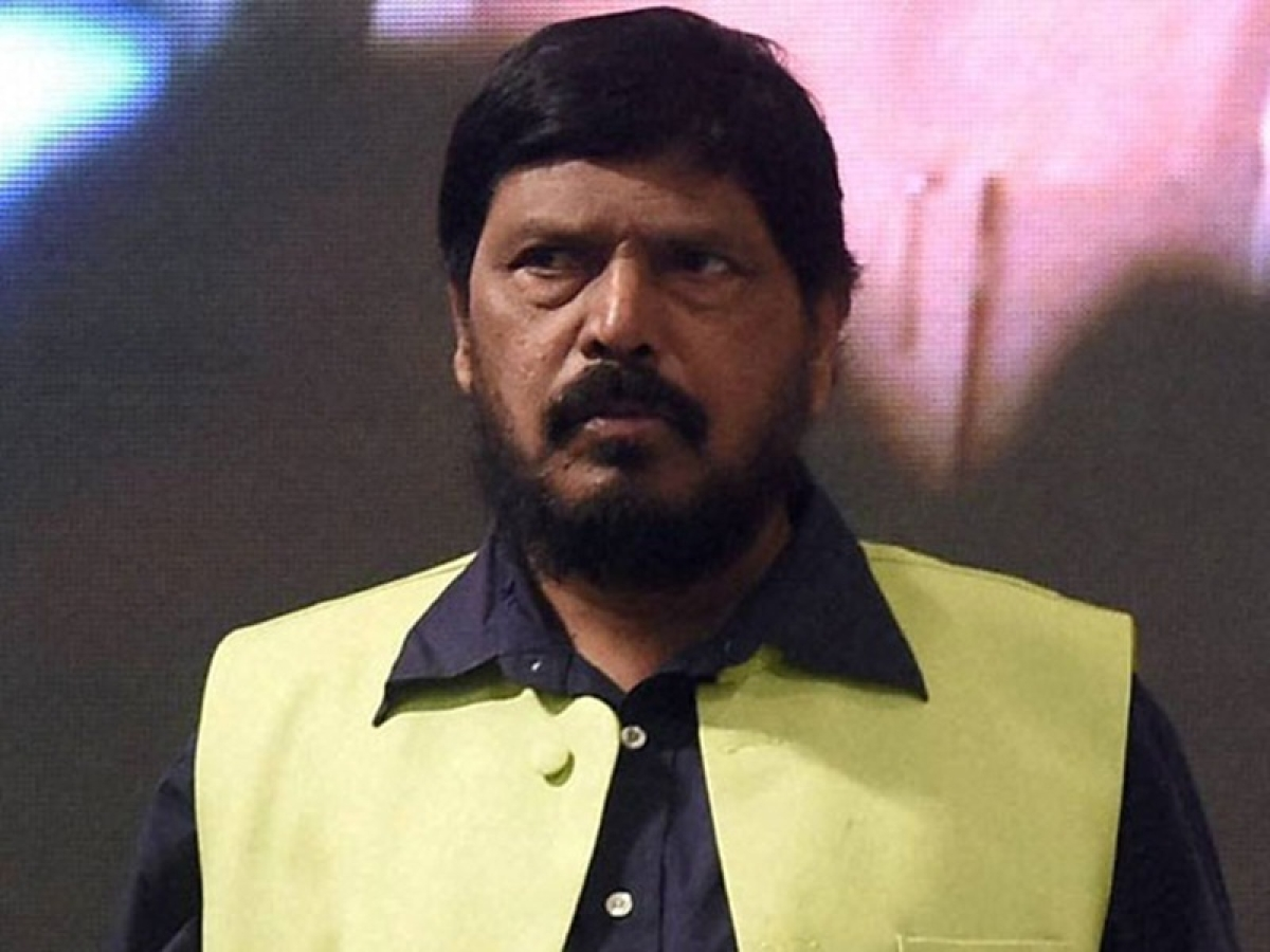 Union minister Ramdas Athawale slapped; accused beaten up by supporters