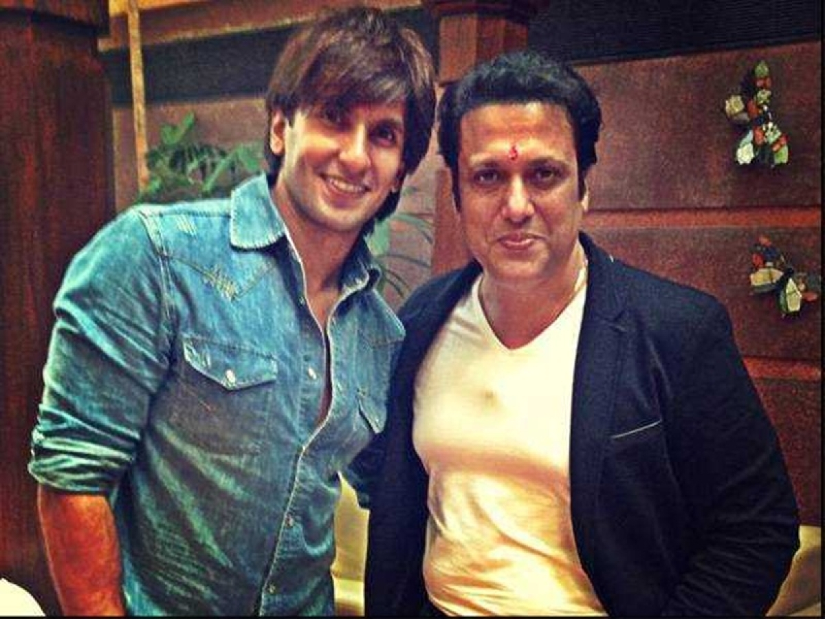 'Thank you my Rockstar', Govinda returns compliment after Ranveer Singh calls him 'the King'