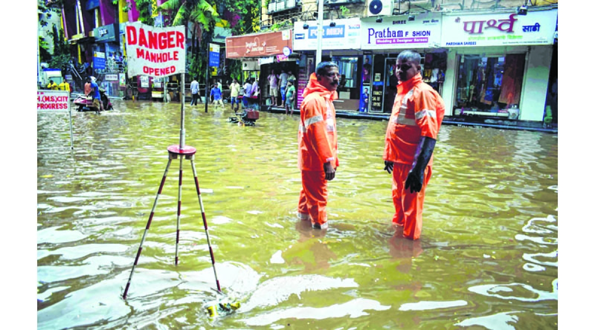 There is no water logging in Mumbai - Mumbai mayor