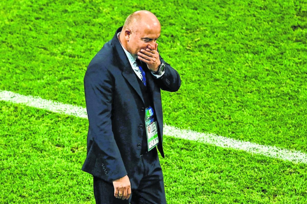 Coach Cherchesov laments harsh end to WC dream