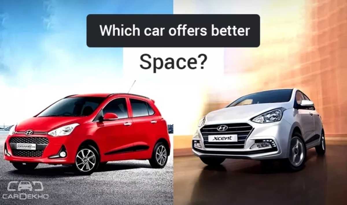 Hyundai Grand i10 vs Xcent: Which Is More Spacious?