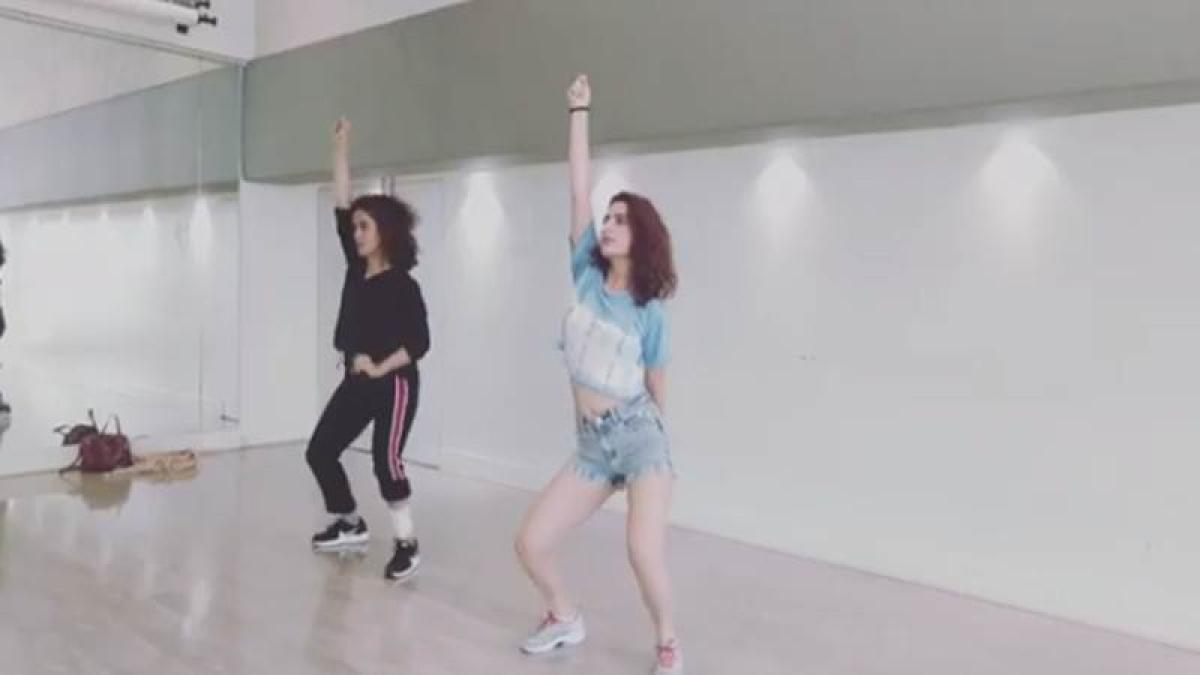 Must watch! Fatima Sana Shaikh and Sanya Malhotra's sizzling dance move on Dilbar song will make your jaw drop