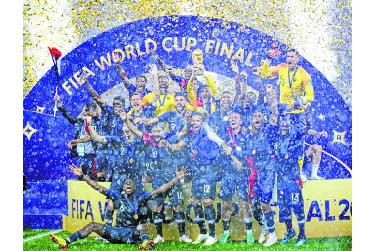 France win cup…Croatia hearts