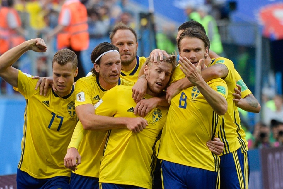 FIFA World Cup 2018: Sweden edge past Switzerland to enter World Cup quarter-finals