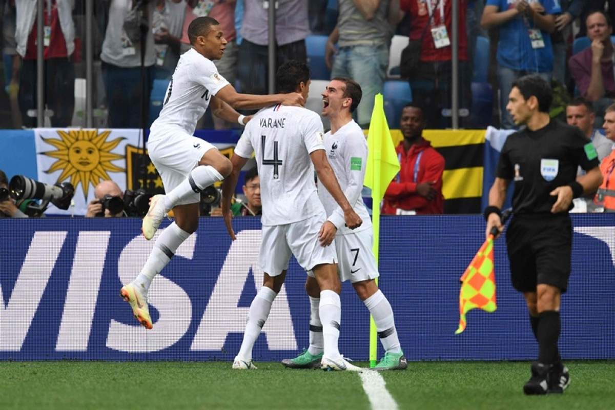 FIFA World Cup 2018: France beat Uruguay by 2-0 to enter World Cup semi-finals