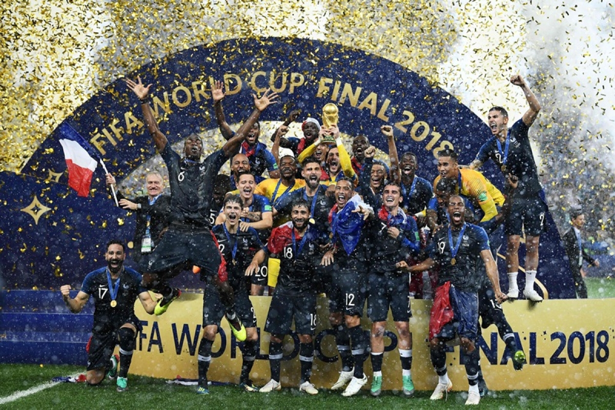 FIFA World Cup 2018: France beat Croatia by 4-2 to win their second World Cup title
