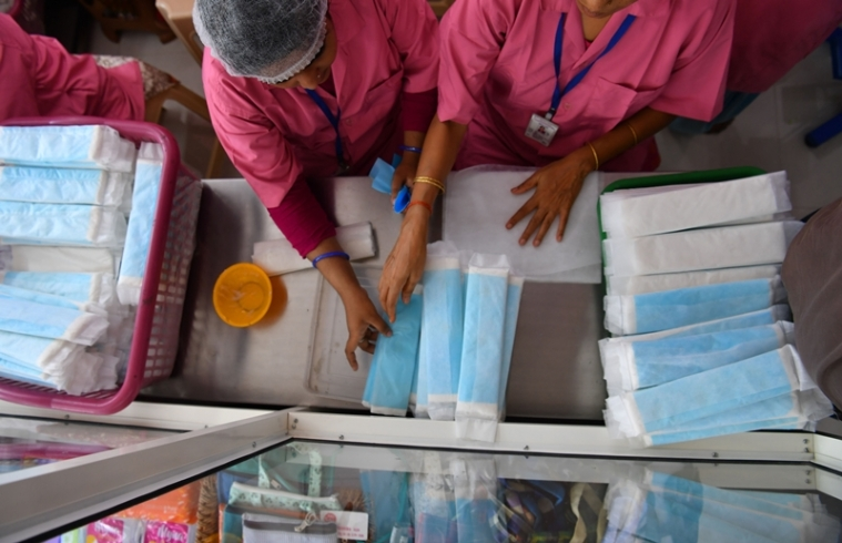 Dubai-based Indian teen provides sanitary pads to tribal girls