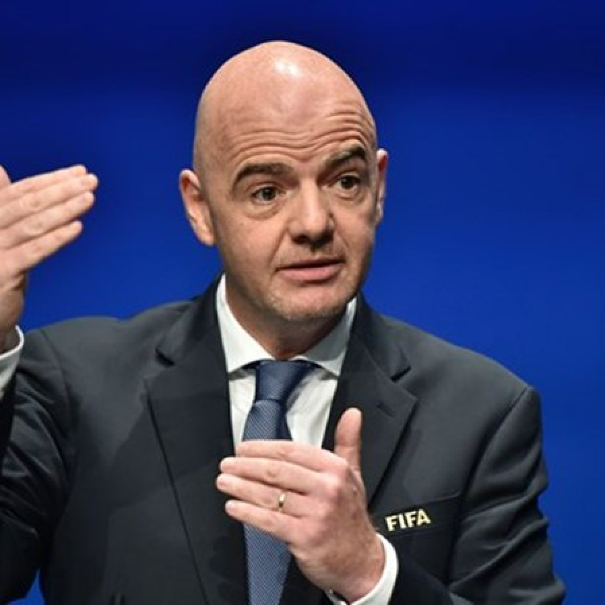 """""""Maybe we can reform football by taking a step back"""", says FIFA president Gianni Infantino"""