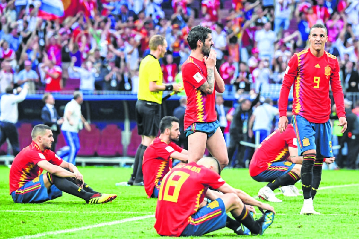 Spain blame game begins after penalty heartache