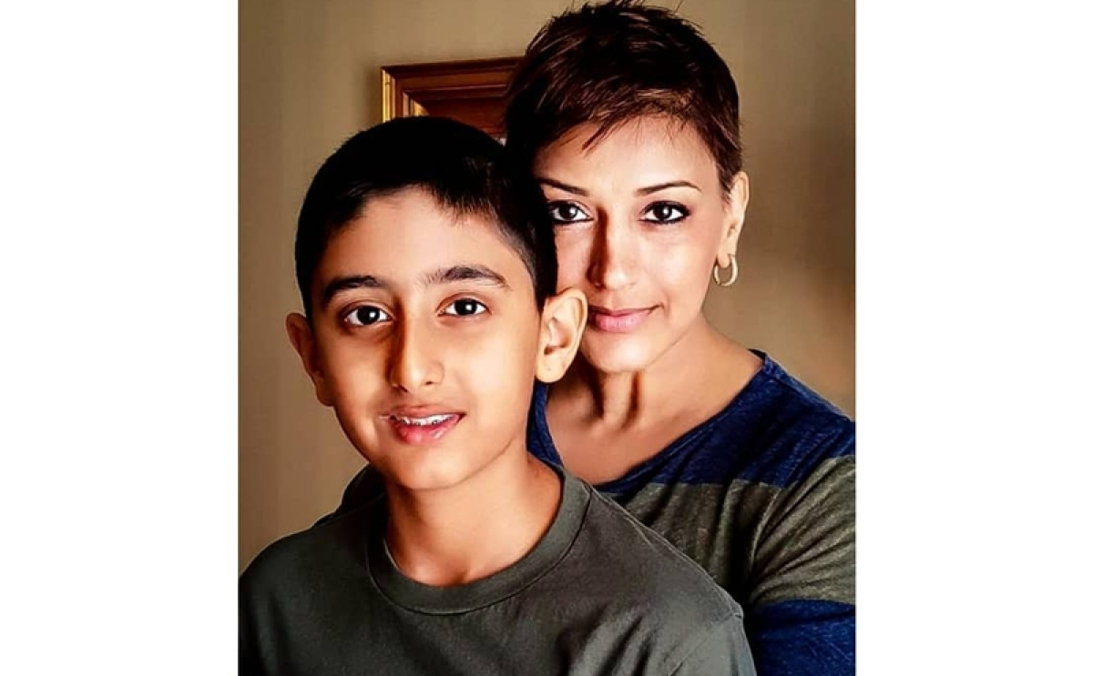 As she battles cancer, Sonali Bendre shares touching post on how life has changed for son Ranveer