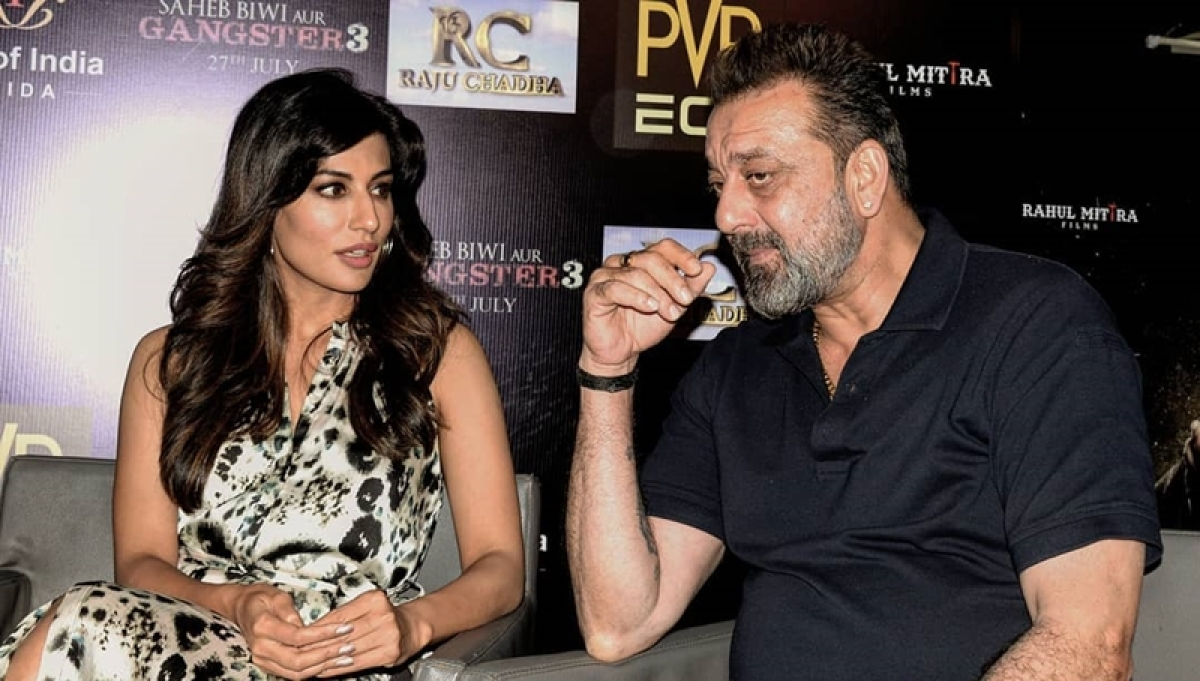 Saheb Biwi Aur Gangster 3! Did Sanjay Dutt really get shy while shooting romantic scene? Ask Chitrangada Singh