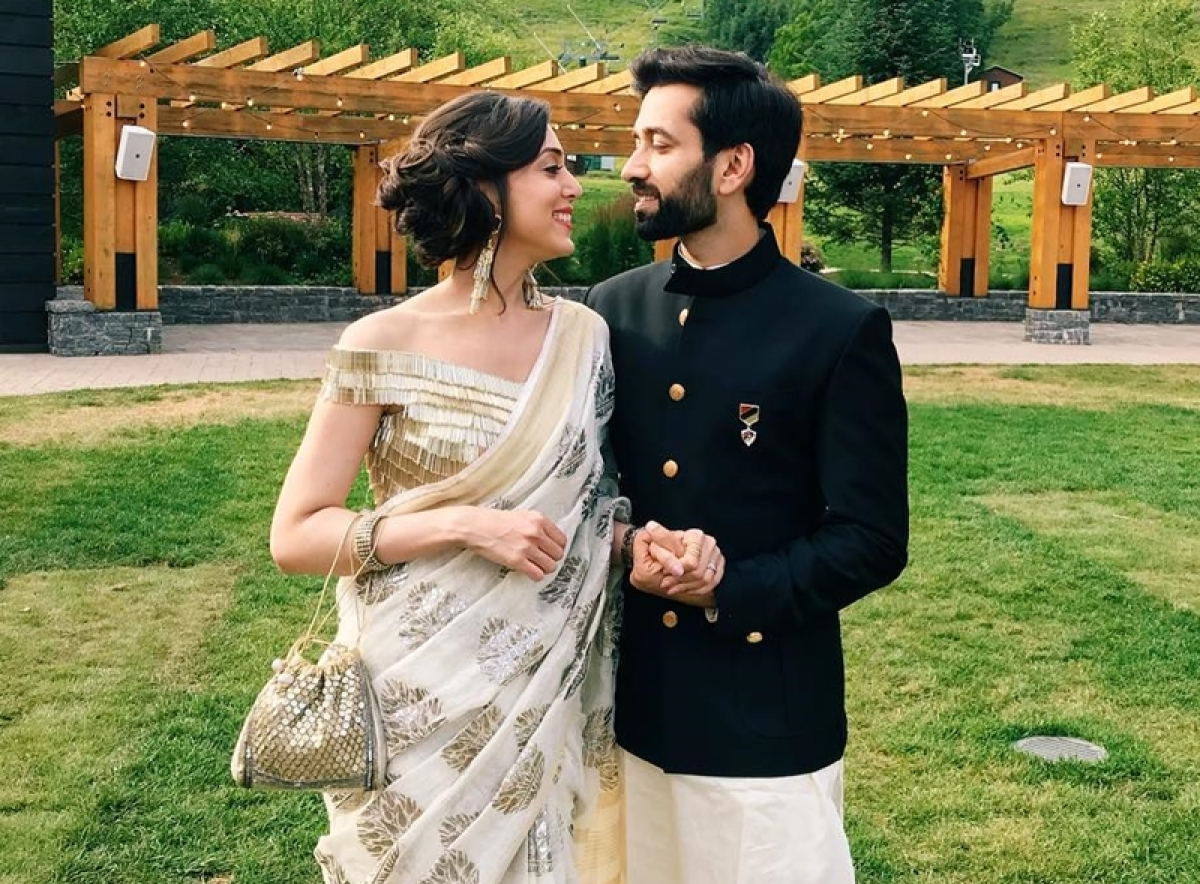 'Ishqbaaaz' actor Nakuul Mehta and wife Jankee channel their royalty in these adorable pictures