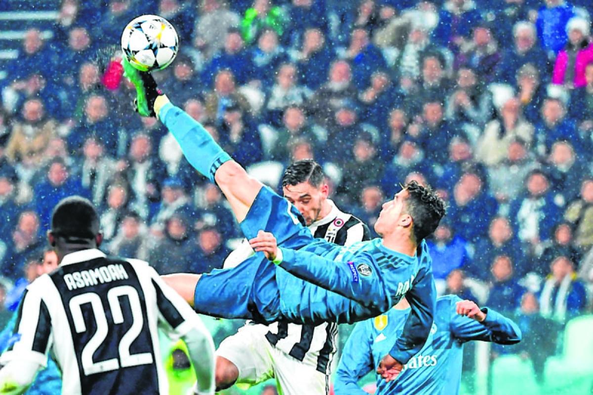 Spanish media says 'ciao' to Ronaldo amid Juve rumours