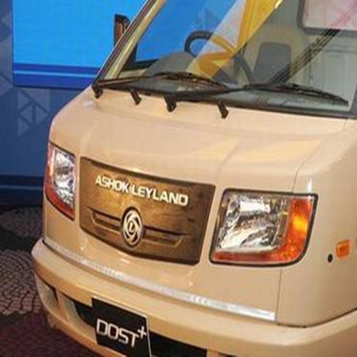 Ashok Leyland March auto sales plunge 90% at 2,179 units