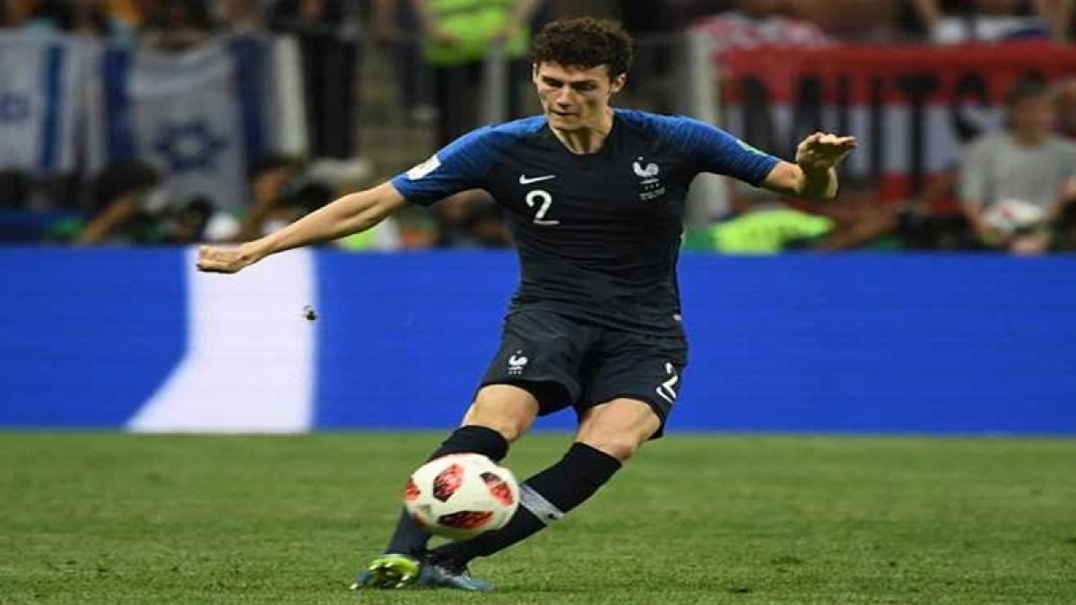 FIFA World Cup 2018: French player Benjamin Pavard wins goal of the tournament award