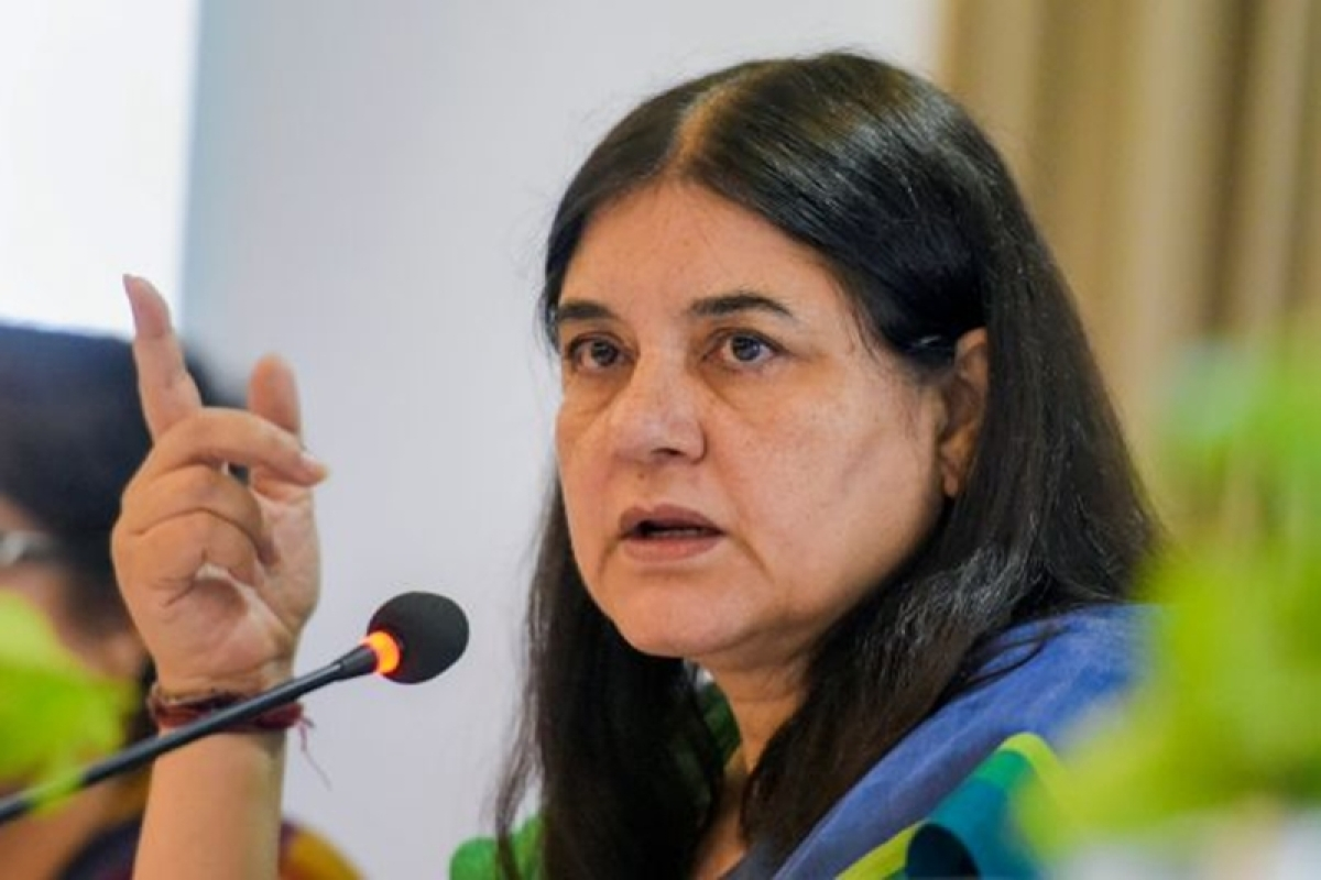 Maneka Gandhi's warning to Muslims: Vote for me if you want jobs