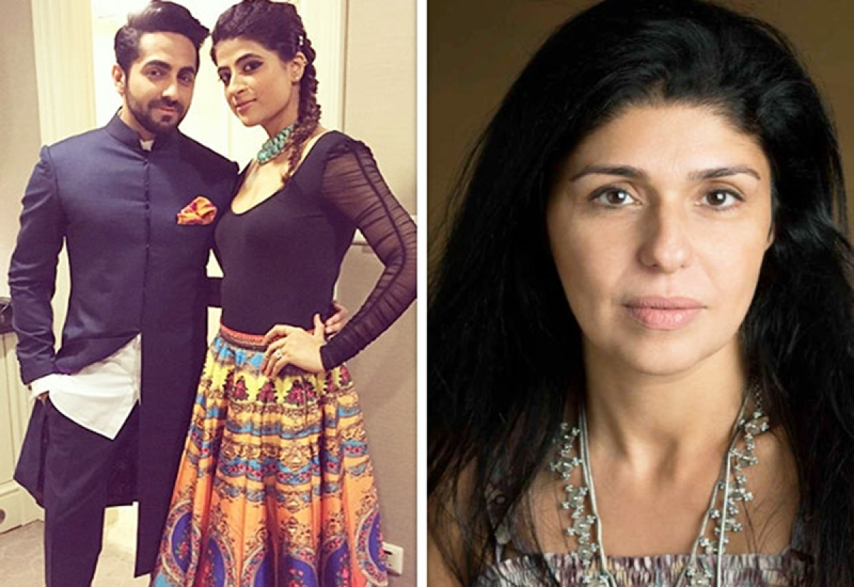REALLY! Did Ayushmann Khurrana make his pregnant wife watch him make-out onscreen? Anaita Shroff Adajania questions