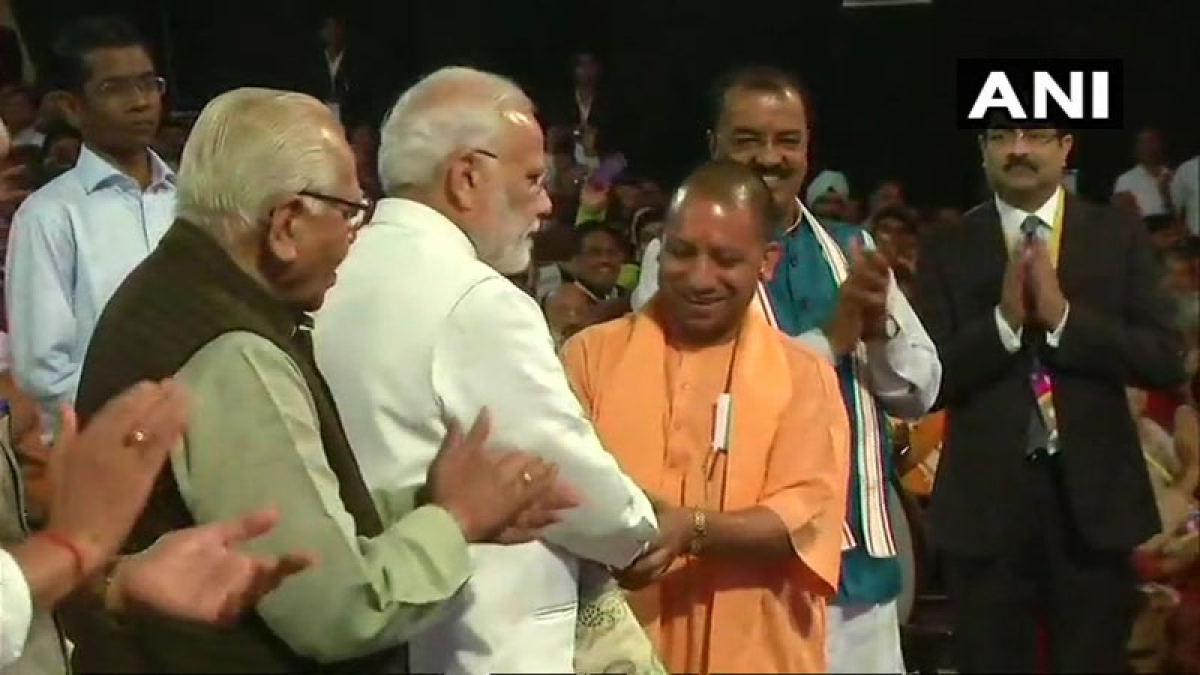PM launches Rs 60k cr projects for Yogi's UP