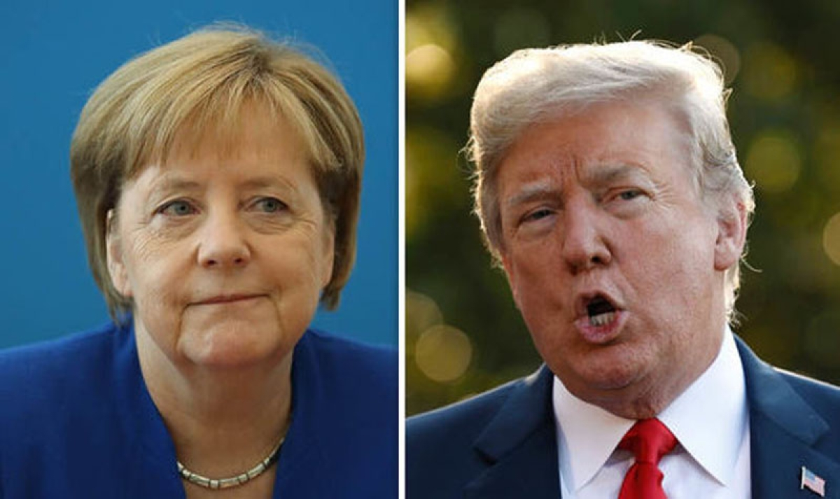 Germany makes independent decisions, Merkel tells Trump