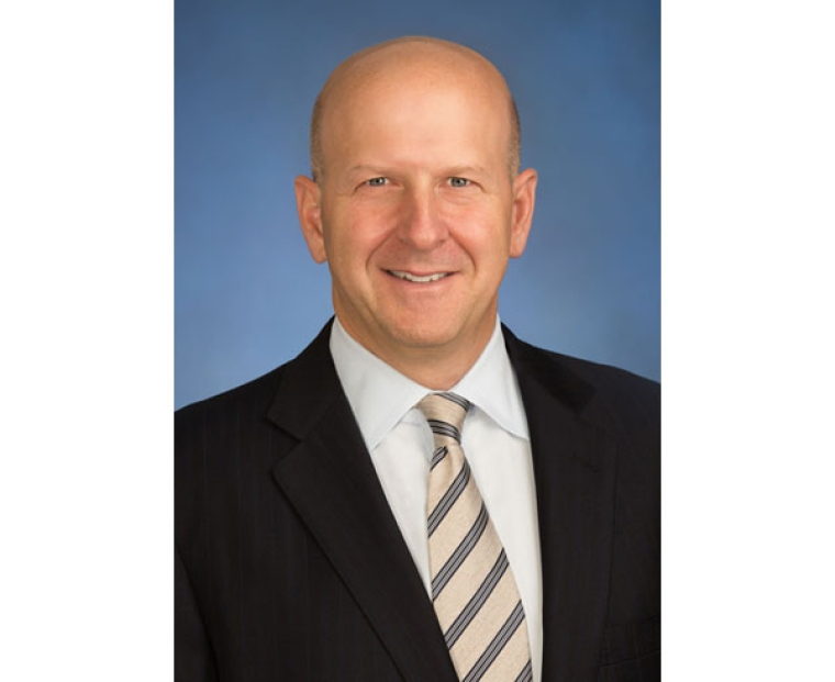 "(FILES) In this file photo obtained on March 13, 2018 courtesy of Goldman Sachs shows David Solomon in New York. Goldman Sachs named David Solomon its new chief executive on July 17, 2018, implementing a much-telegraphed succession plan as it expands beyond its Wall Street roots to the broader consumer market.The prestigious investment bank said Solomon will assume the top executive job on October 1, succeeding longtime chief Lloyd Blankfein, who will remain as chairman through the end of the year. Solomon will then succeed Blankfein as chairman.  / AFP PHOTO / Goldman Sachs / Mark MCQUEEN / RESTRICTED TO EDITORIAL USE - MANDATORY CREDIT ""AFP PHOTO / GOLDMAN SACHS/MARK MCQUEEN/HANDOUT"" - NO MARKETING NO ADVERTISING CAMPAIGNS - DISTRIBUTED AS A SERVICE TO CLIENTS"