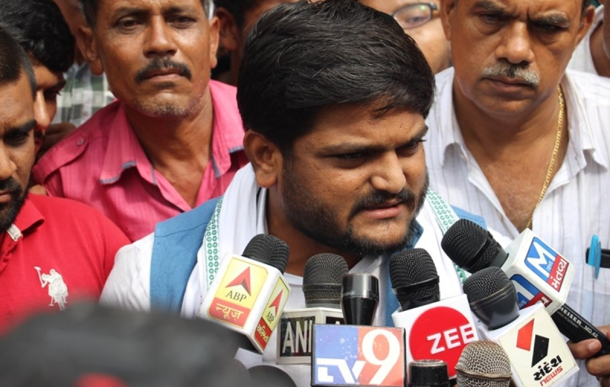 Sedition case: Ahmedabad Court asks Hardik Patel to be present on September 14