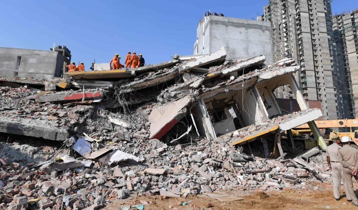 Greater Noida building collapse: Police arrest owner of the land, 2 others