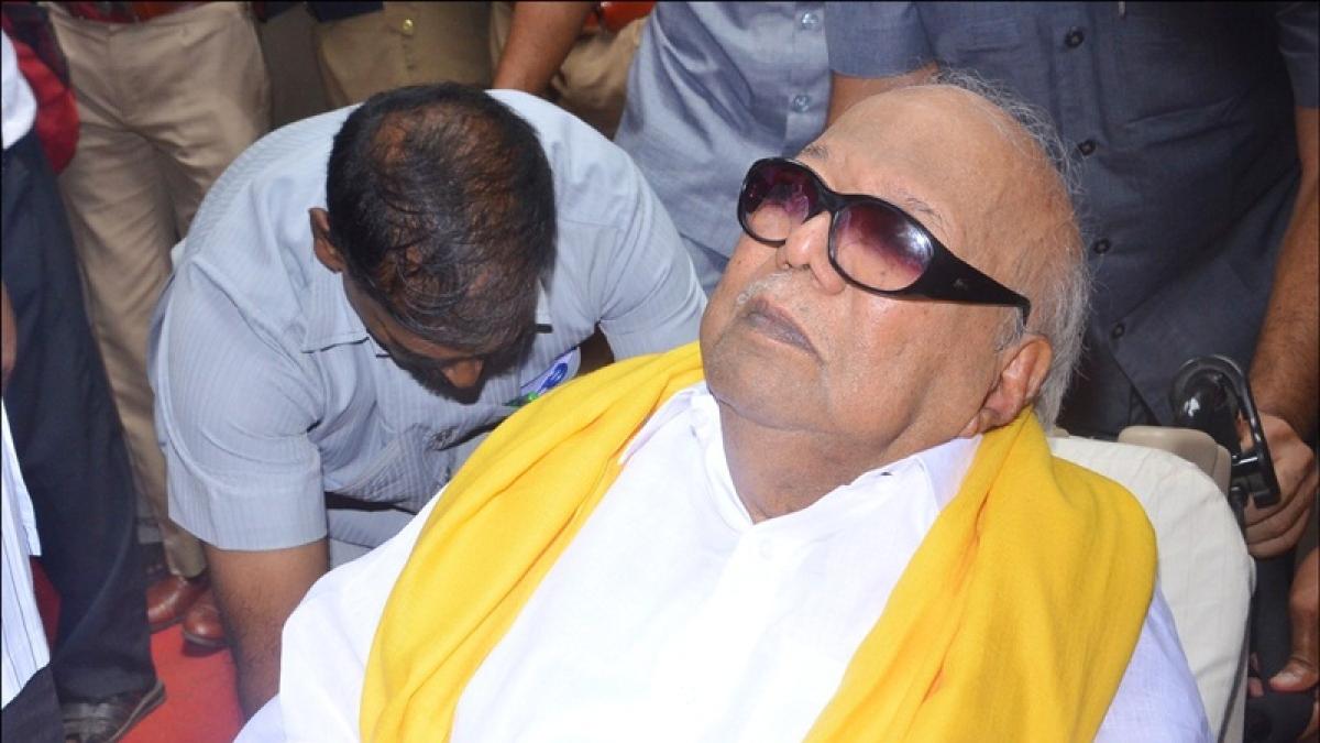 MK Stalin, Kanimozhi, Congress pay tribute to M Karunanidhi on his birth anniversary