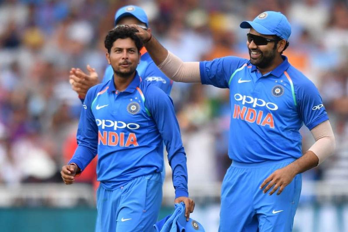 India vs England: Rohit ton, Kuldeep 5-wicket scalp help India edge over England in 1st ODI