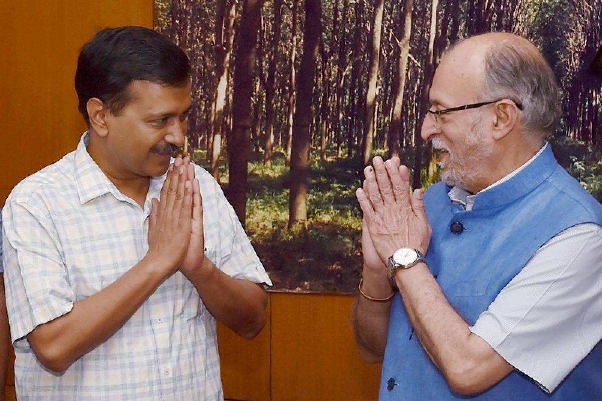 Delhi power tussle: CM Arvind Kejriwal approaches Lt Governor to enforce Supreme Court order