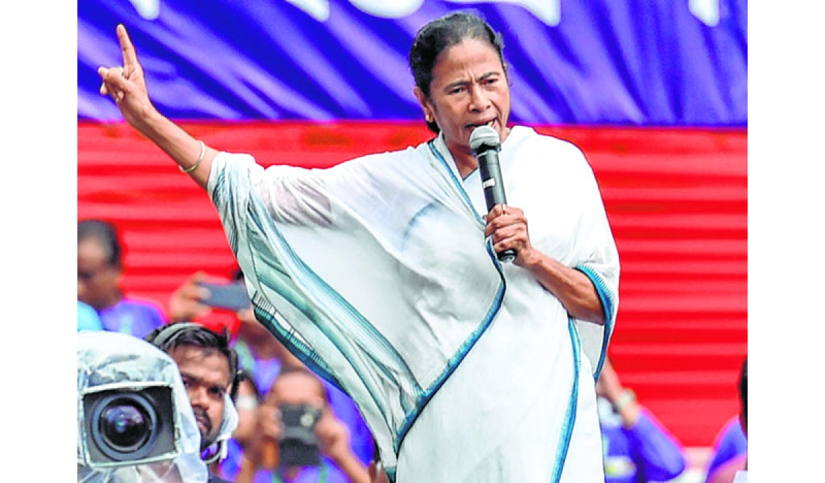 Rahul Gandhi hits out at Mamata Banerjee's claim of not fighting BJP