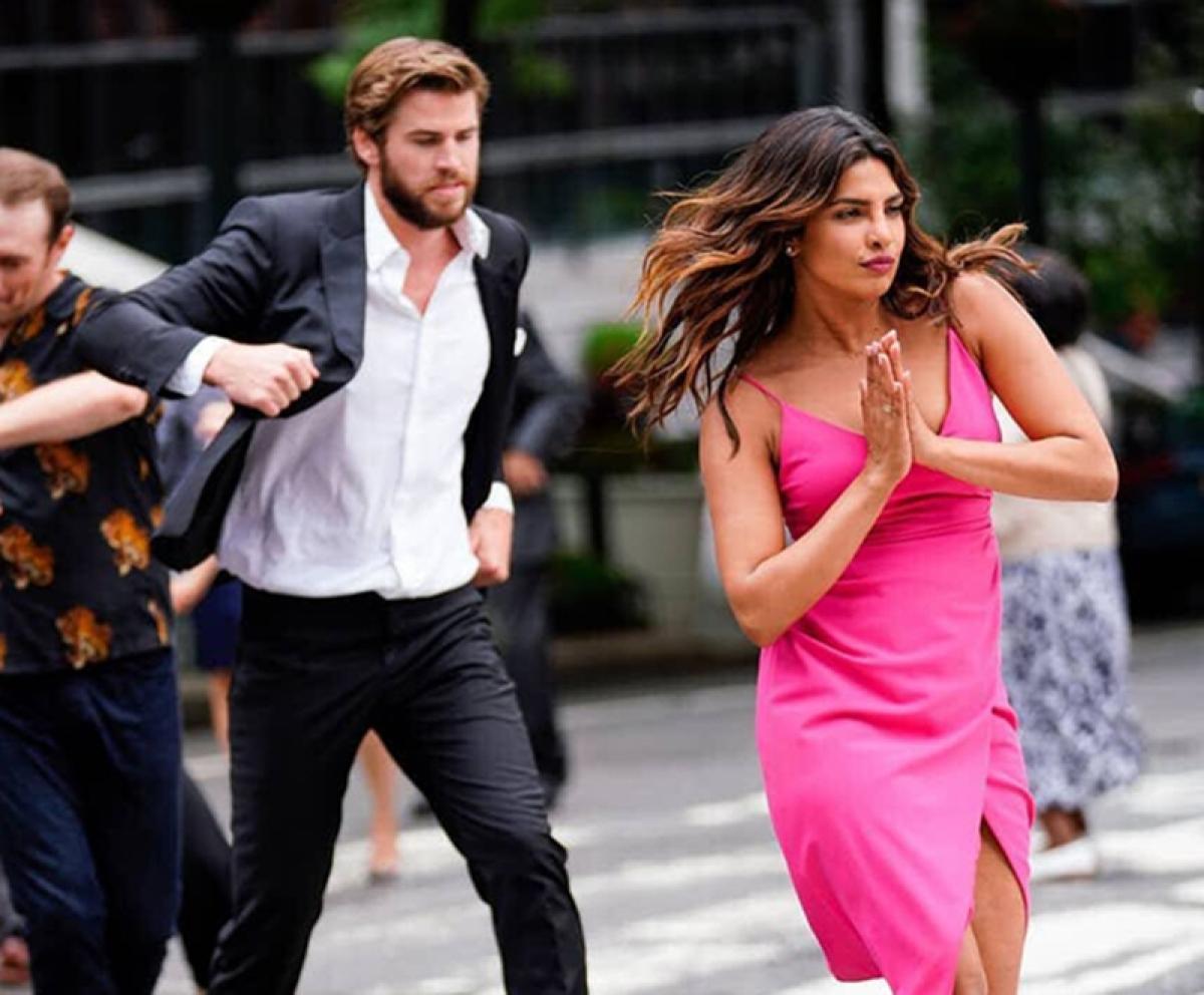 Priyanka Chopra wraps up 'Isn't It Romantic' in Bollywood style