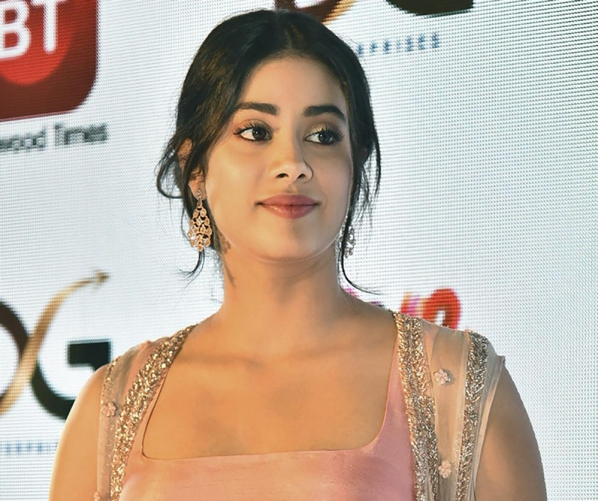 actress Janhvi Kapoor