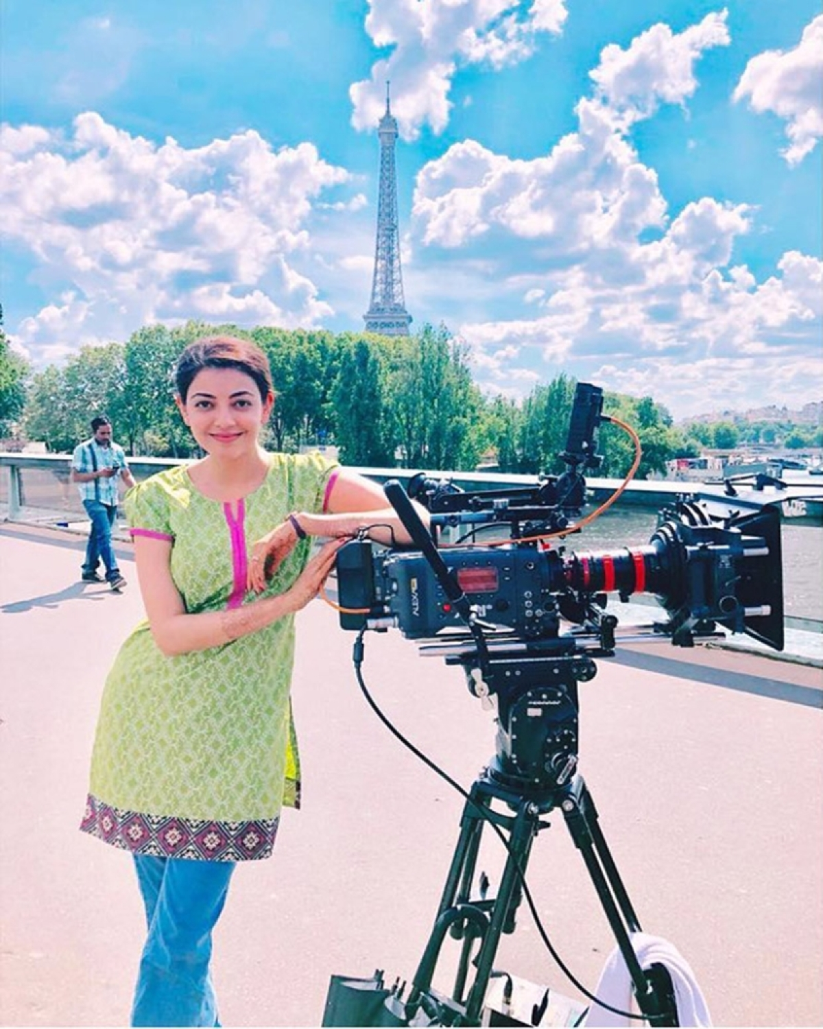 'Paris Paris' wrap up! Kajal Aggarwal and others wrap up all four South remakes of Queen in Europe; see pics