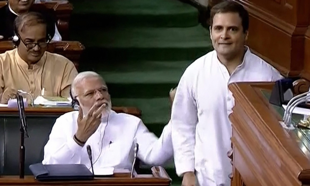 Day after hugging PM Modi, Rahul Gandhi says 'only Love and Compassion can build a nation'