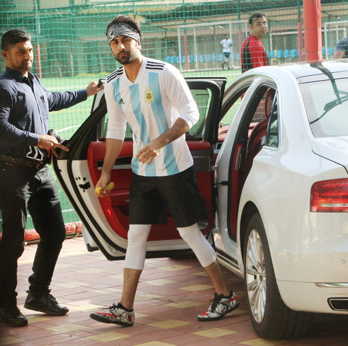 Basking in 'Sanju' glory, Ranbir Kapoor enjoys football with cousins Armaan, Aadar Jain; sporty pics