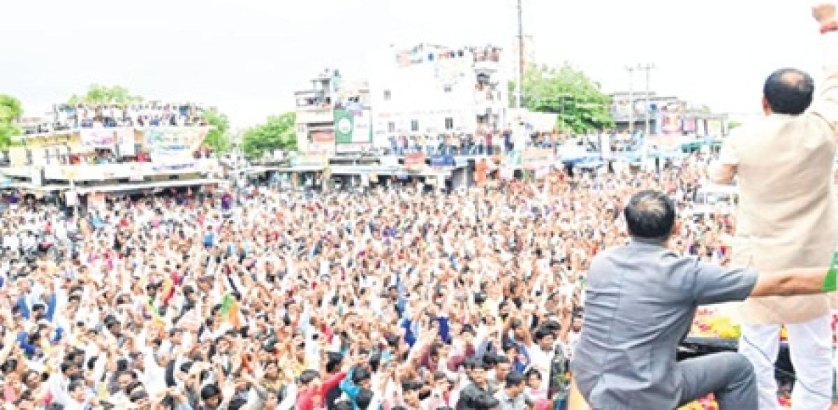 Bhopal: Response to Jan Ashirwaad Yatra leaves BJP elated, Congress nervous