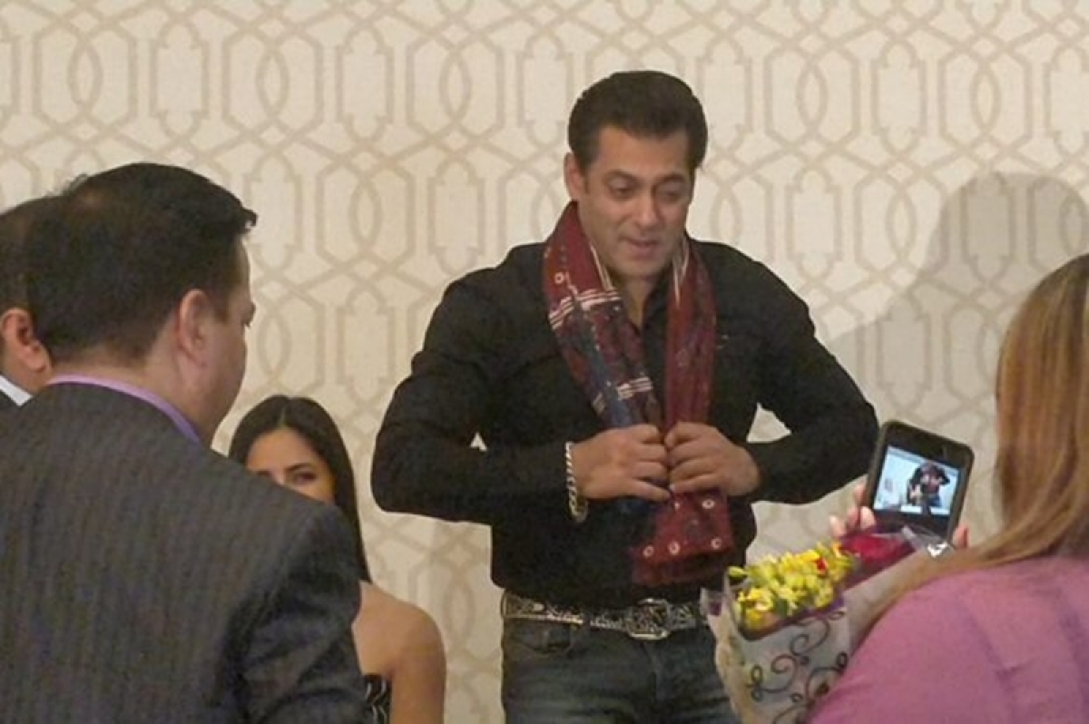 Bollywood superstar Salman Khan felicitated as global ambassador for peace in Washington DC
