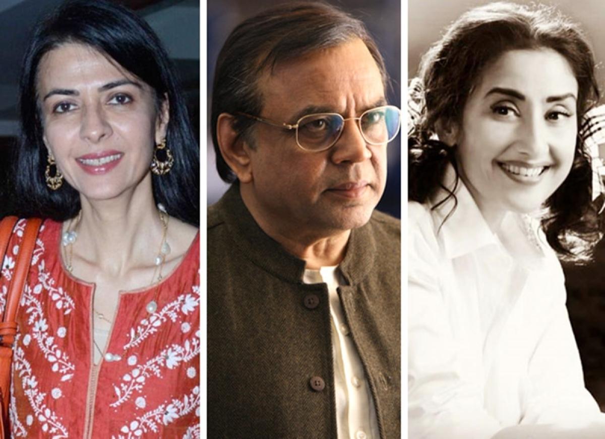 Sanju: Namrata Dutt 'upset' with Paresh Rawal and Manisha Koirala playing Sunil and Nargis Dutt?
