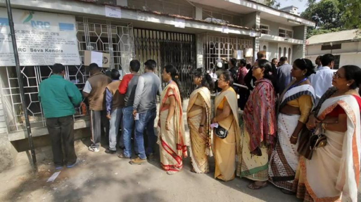 NRC List: BJP march in Kolkata to demand NRC in Bengal too